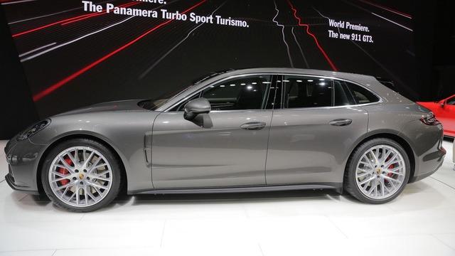 Vừa ra mắt tại triển lãm Geneva 2017, Porsche Panamera Sport Turismo đã có giá ở Việt Nam - Ảnh 3.