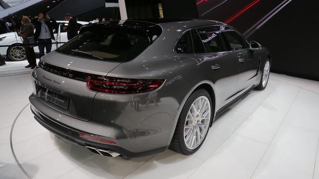 Vừa ra mắt tại triển lãm Geneva 2017, Porsche Panamera Sport Turismo đã có giá ở Việt Nam - Ảnh 7.