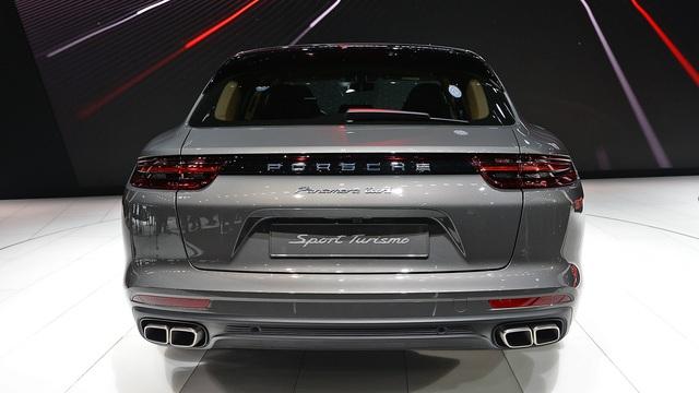Vừa ra mắt tại triển lãm Geneva 2017, Porsche Panamera Sport Turismo đã có giá ở Việt Nam - Ảnh 9.