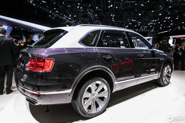Cận cảnh SUV nhà giàu Bentley Bentayga Mulliner bằng xương, bằng thịt - Ảnh 3.