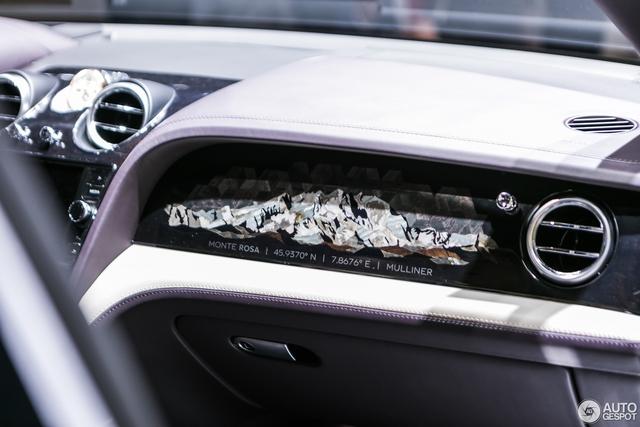 Cận cảnh SUV nhà giàu Bentley Bentayga Mulliner bằng xương, bằng thịt - Ảnh 6.