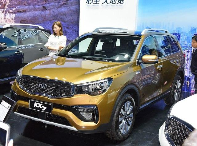 Kia KX7 - xe ra đời từ Sorento - trình làng với giá 593 triệu Đồng - Ảnh 1.