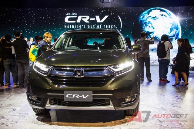 Honda CR-V 7 chỗ chính thức ra mắt Đông Nam Á, giá từ 917 triệu Đồng - Ảnh 1.