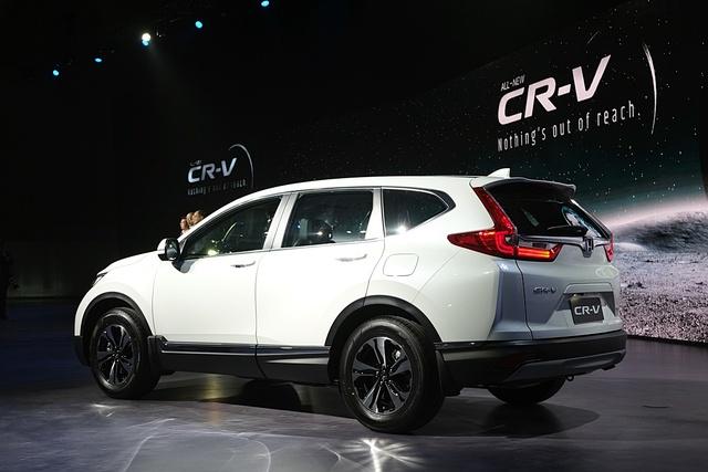 Honda CR-V 7 chỗ chính thức ra mắt Đông Nam Á, giá từ 917 triệu Đồng - Ảnh 8.