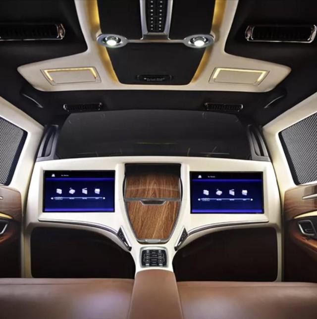Toyota Innova 2017 mang nội thất theo phong cách Rolls-Royce và Maybach - Ảnh 4.