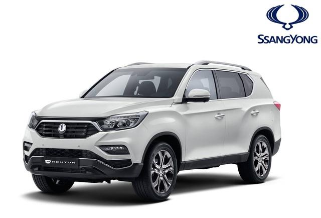Ssangyong Rexton 2017 - Xe SUV tham vọng cạnh tranh với Land Rover Discovery - Ảnh 1.