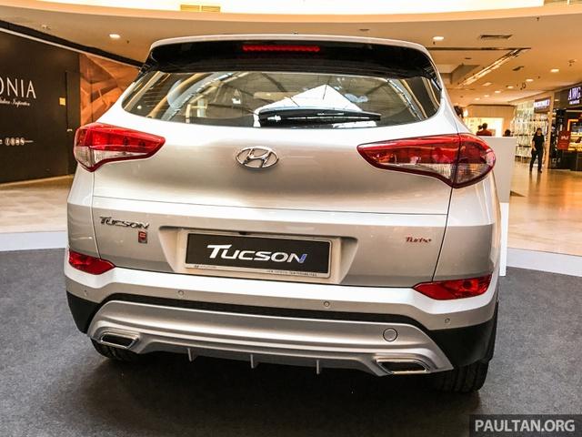 Diện kiến Hyundai Tucson Turbo mới, khác xe ở Việt Nam - Ảnh 4.
