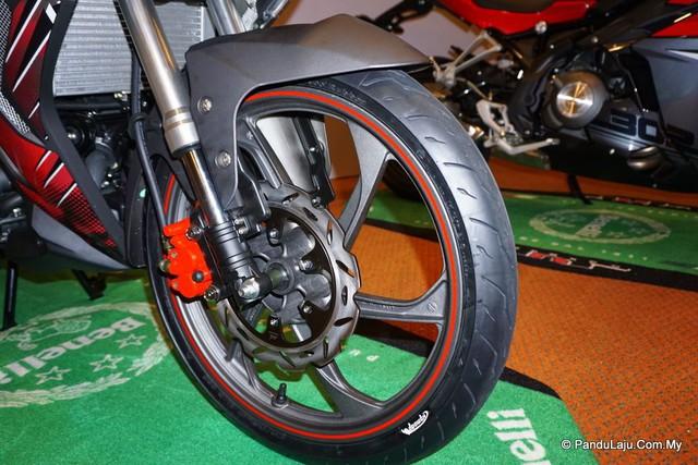 Cận cảnh xe côn tay Benelli RFS150i - đối thủ mới của Yamaha Exciter 150 - Ảnh 7.