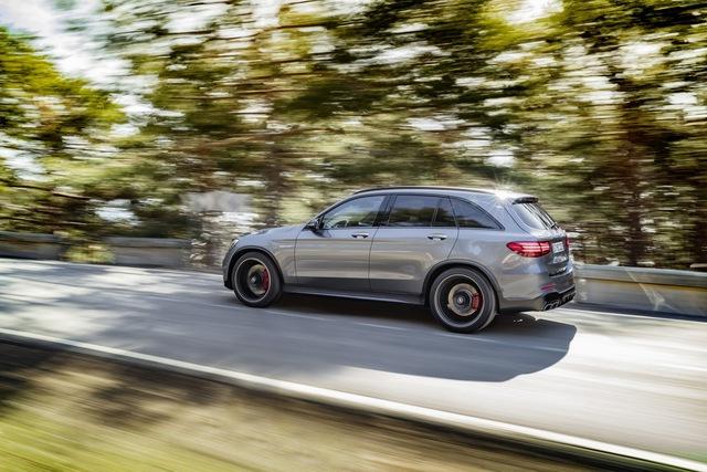 Cặp đôi SUV hiệu suất cao Mercedes-AMG GLC63 và GLC63 Coupe 2018 hiện nguyên hình - Ảnh 7.