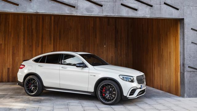 Cặp đôi SUV hiệu suất cao Mercedes-AMG GLC63 và GLC63 Coupe 2018 hiện nguyên hình - Ảnh 11.