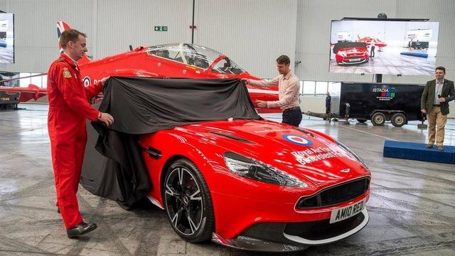 Aston Martin Vanquish S Red Arrows - Xe sang chỉ dành cho ít người - Ảnh 2.