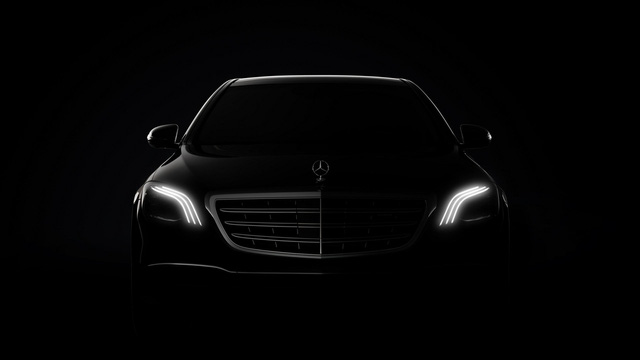 Hình ảnh chính thức đầu tiên của xe hot Mercedes-Benz S-Class 2018 - Ảnh 1.