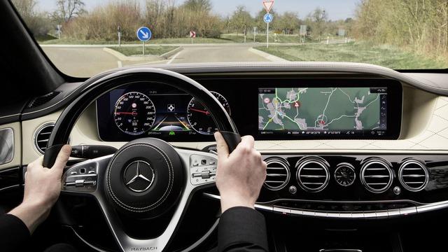 Hình ảnh chính thức đầu tiên của xe hot Mercedes-Benz S-Class 2018 - Ảnh 3.