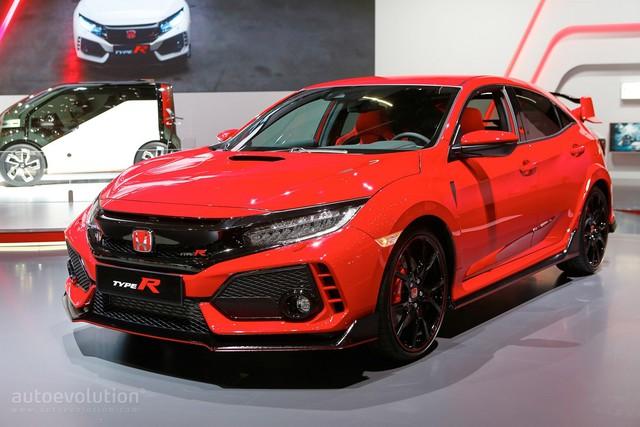 Bắt gặp Honda Civic Type R 2018 khoe tiếng pô trên đường phố - Ảnh 8.