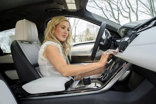 Nữ ca sỹ Ellie Goulding giới thiệu SUV hạng sang Range Rover Velar - Ảnh 2.