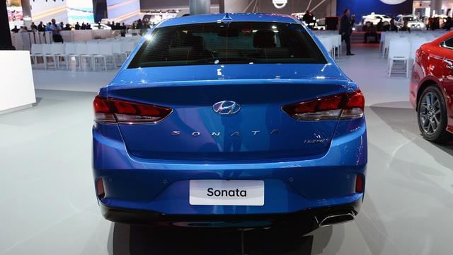 Hyundai Sonata 2018 phiên bản quốc tế trình làng, sẵn sàng đối đầu Toyota Camry - Ảnh 8.