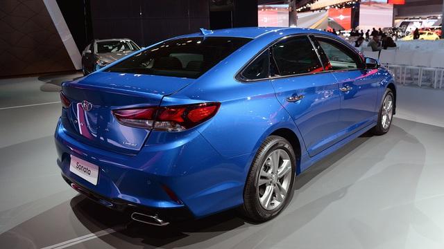 Hyundai Sonata 2018 phiên bản quốc tế trình làng, sẵn sàng đối đầu Toyota Camry - Ảnh 12.