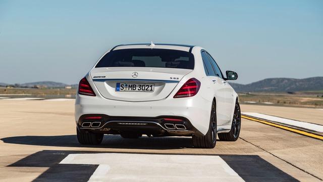 Chi tiết cặp xe sang thể thao Mercedes-AMG S63 và S65 2018 - Ảnh 2.