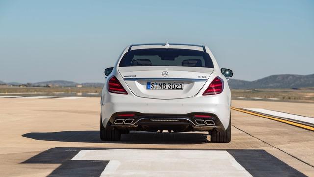 Chi tiết cặp xe sang thể thao Mercedes-AMG S63 và S65 2018 - Ảnh 9.