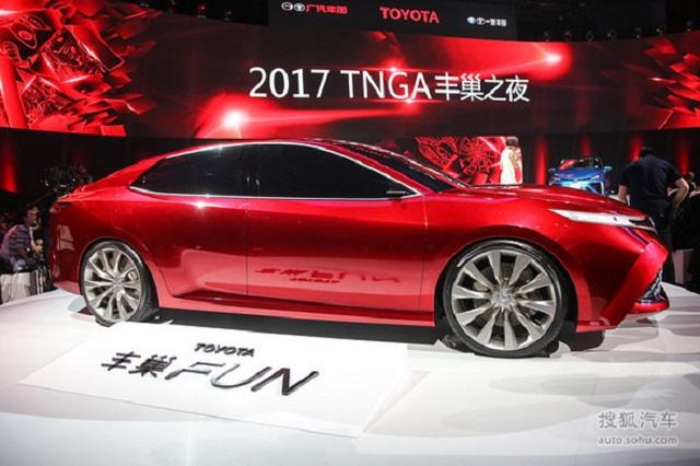 Đây là hình ảnh xem trước của Toyota Camry 2018 cho châu Á - Ảnh 2.