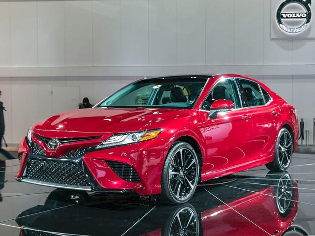 Đây là hình ảnh xem trước của Toyota Camry 2018 cho châu Á - Ảnh 1.