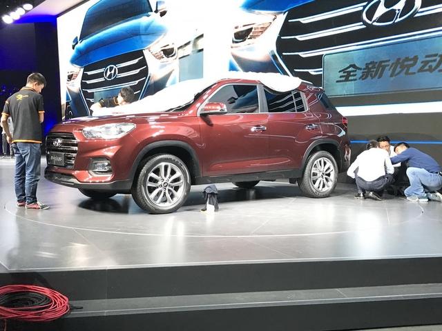 Hyundai ix35 2017 hiện nguyên hình, cạnh tranh Honda CR-V - Ảnh 5.
