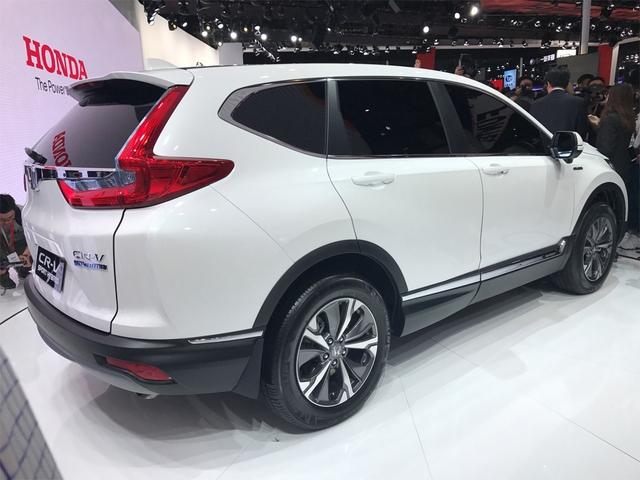 Honda giới thiệu CR-V 2017 phiên bản tiết kiệm xăng không có ở Việt Nam - Ảnh 5.