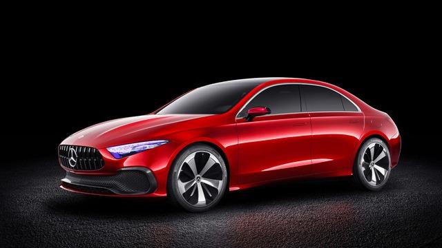 Xem trước thiết kế của xe sang giá mềm Mercedes-Benz A-Class Sedan - Ảnh 2.