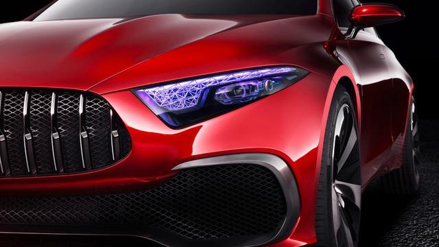 Xem trước thiết kế của xe sang giá mềm Mercedes-Benz A-Class Sedan - Ảnh 3.