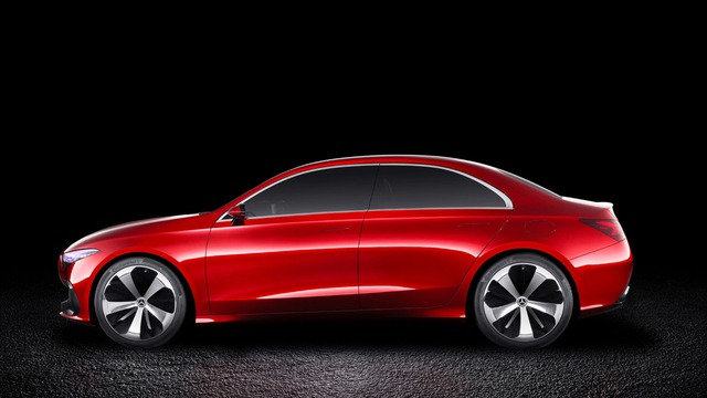 Xem trước thiết kế của xe sang giá mềm Mercedes-Benz A-Class Sedan - Ảnh 4.