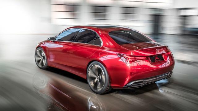 Xem trước thiết kế của xe sang giá mềm Mercedes-Benz A-Class Sedan - Ảnh 6.