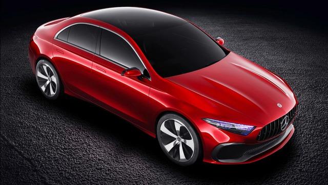 Xem trước thiết kế của xe sang giá mềm Mercedes-Benz A-Class Sedan - Ảnh 8.