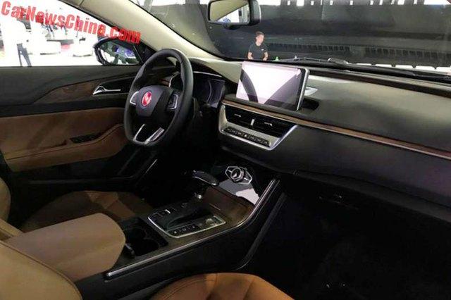 Cận cảnh Hồng Kỳ H5 - phiên bản sang hơn của Mazda6 - Ảnh 6.