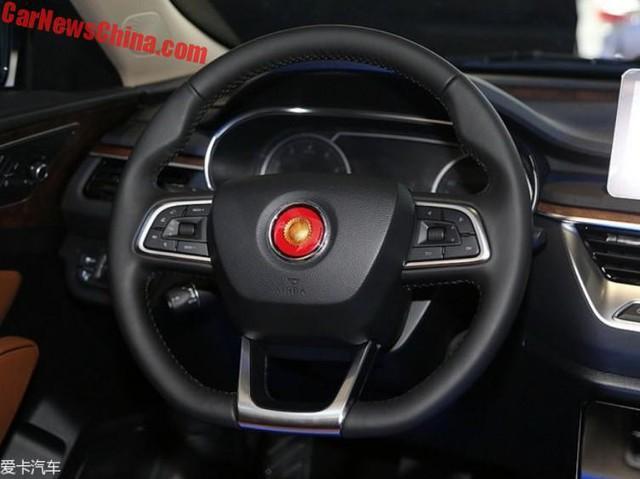 Cận cảnh Hồng Kỳ H5 - phiên bản sang hơn của Mazda6 - Ảnh 8.