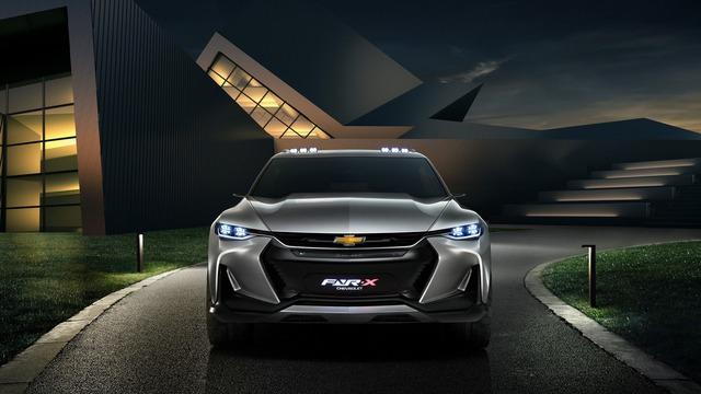 Chevrolet FNR-X - Xe crossover cực ngầu nhưng chỉ ra đời cho vui - Ảnh 5.