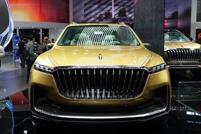 Hồng Kỳ ra mắt xe SUV mới với thiết kế táo bạo - Ảnh 1.