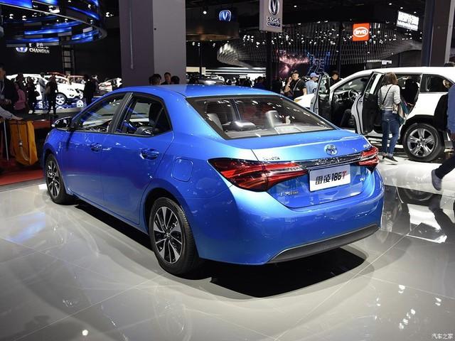 Làm quen với một Toyota Corolla 2017 mang thiết kế khác biệt - Ảnh 3.