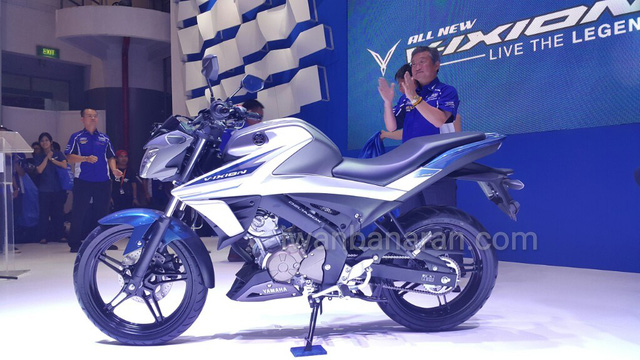 Xe côn tay Yamaha V-Ixion 2017 chính thức được vén màn, giá từ 44,3 triệu Đồng - Ảnh 3.