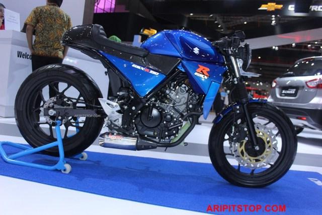 Chiêm ngưỡng phiên bản Café Racer của Suzuki GSX-R150 sắp ra mắt Việt Nam - Ảnh 4.