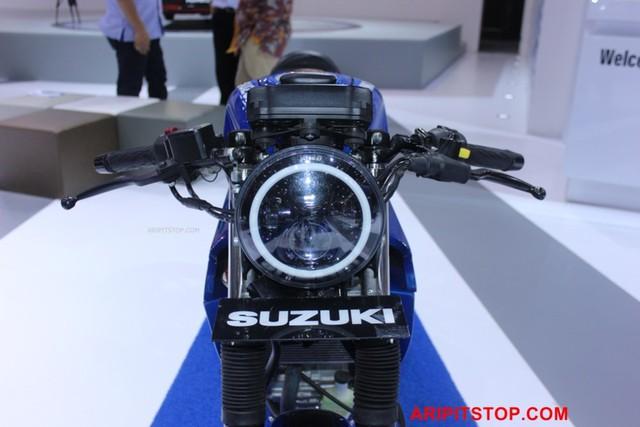 Chiêm ngưỡng phiên bản Café Racer của Suzuki GSX-R150 sắp ra mắt Việt Nam - Ảnh 5.