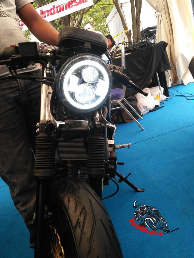 Chiêm ngưỡng phiên bản Café Racer của Suzuki GSX-R150 sắp ra mắt Việt Nam - Ảnh 6.
