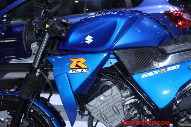 Chiêm ngưỡng phiên bản Café Racer của Suzuki GSX-R150 sắp ra mắt Việt Nam - Ảnh 8.