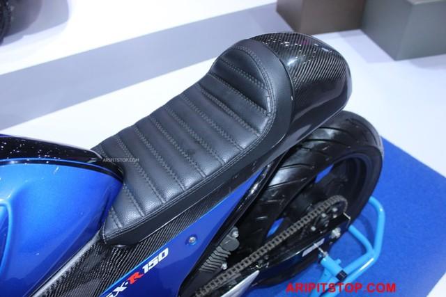 Chiêm ngưỡng phiên bản Café Racer của Suzuki GSX-R150 sắp ra mắt Việt Nam - Ảnh 11.