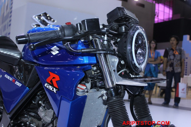 Chiêm ngưỡng phiên bản Café Racer của Suzuki GSX-R150 sắp ra mắt Việt Nam - Ảnh 12.