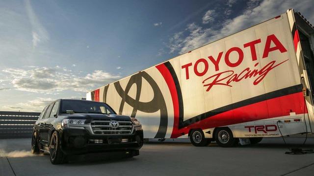 Toyota Land Cruiser 2.000 mã lực trở thành chiếc SUV nhanh nhất thế giới - Ảnh 1.