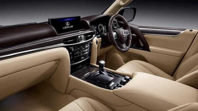 Chuyên cơ mặt đất Lexus LX450d 2017 không có ở Việt Nam được chốt giá từ 8,1 tỷ Đồng - Ảnh 4.
