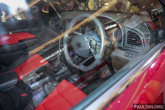 Cận cảnh phiên bản thể thao của Hyundai Elantra 2017 tại Đông Nam Á - Ảnh 11.