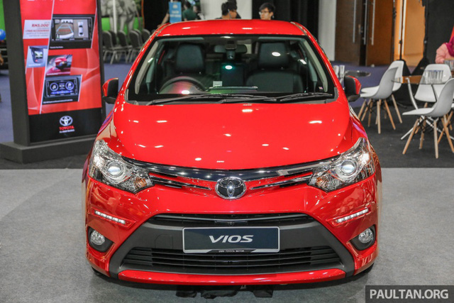 Ngắm Toyota Vios 2017 có camera 360 độ mới ngoài đời thực - Ảnh 1.