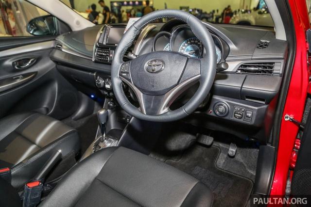 Ngắm Toyota Vios 2017 có camera 360 độ mới ngoài đời thực - Ảnh 5.