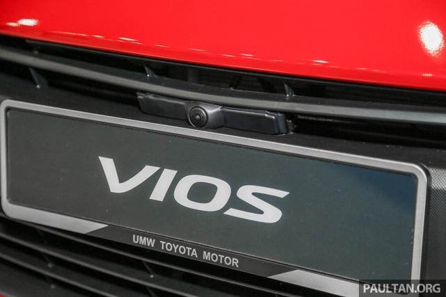 Ngắm Toyota Vios 2017 có camera 360 độ mới ngoài đời thực - Ảnh 7.